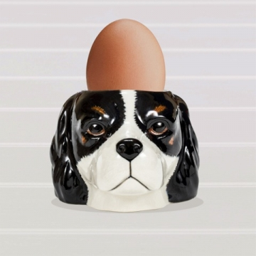 Cavalier King Charles Spaniel Face Egg Cup